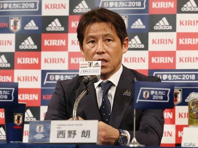 【ガーナ戦】西野ジャパンの3-4-2-1システム分析